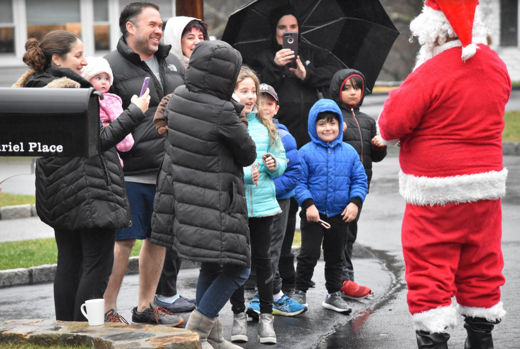 Santa visits Glenville on Dec 16, 2018 Photo: Heather Lowthert Brown