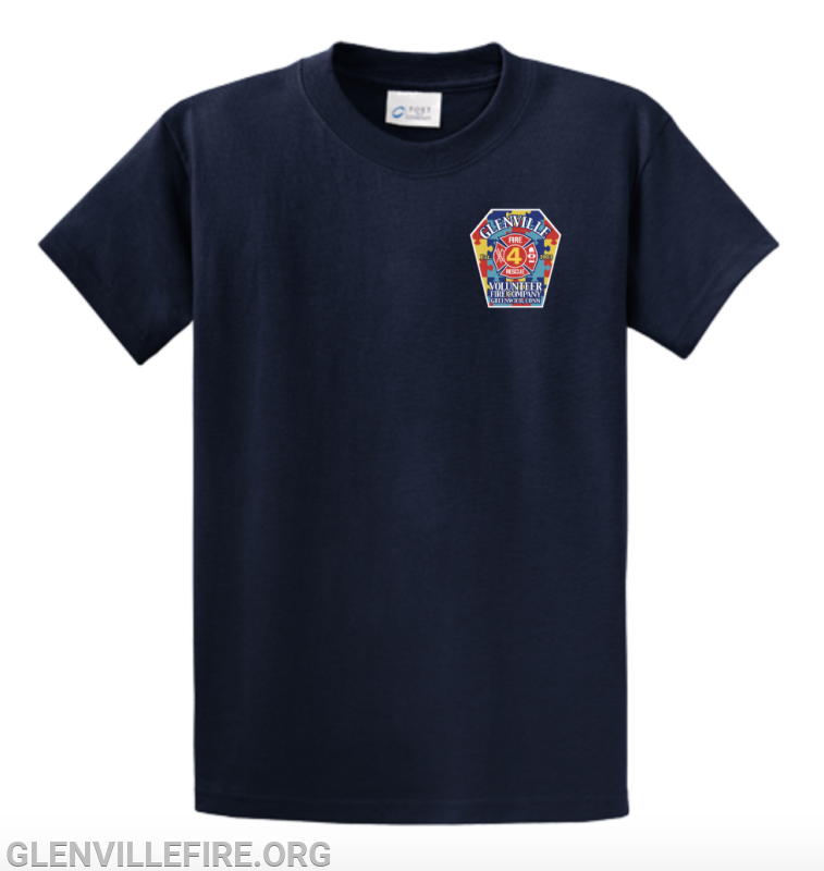 The front of the GVFC T-shirt for Autism Awareness Month. (contributed photo)